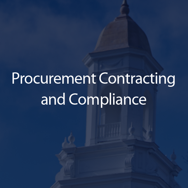 Contracting and Compliance