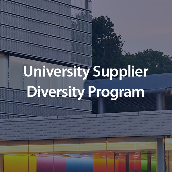 University Supplier Diversity Program